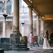 Wedding beside the Great Bath - Bath's Historic Venues