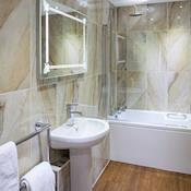 Chateau Bathroom - The Chateau Impney Hotel & Exhibition Centre