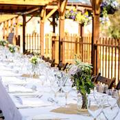 Banqueting at The Italian Garden - Orchardleigh Estate
