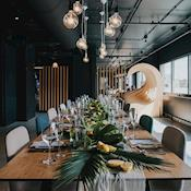 Unique space for Lunch or dinner with waterside views - Good Hotel London
